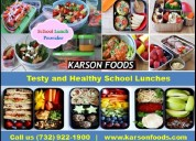Karson foods – top most school food service nj