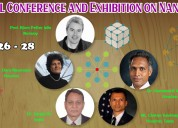 International conference and  exhibition on nanote