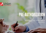 Pre-authorization | insurance verification service