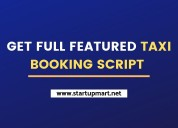 Purchase our on-demand taxi booking script