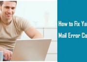How to fix yahoo mail error code 45