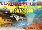 We transport merchadise quinckly and safely.