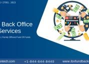 Fund back office service.