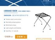 Deal of the week - luggage racks