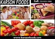 Healthy school lunch provider nj by karson foods