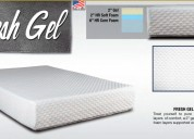 $699 for fresh gel, memory foam queen mattress