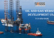 Best oil and gas website development service texas