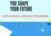 Online training sap s4 hana