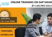 Online training sap s4 hana certification