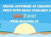 Onetravel deals, coupons on flight,| deals360.us