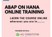 Abap on hana online training
