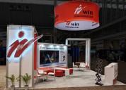Trade show booth rental – get your custom exhibit