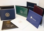 Buy diploma case, certificate folders, leather cas