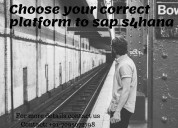 Choose your correct platform to sap s4ha