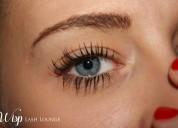 Volume lashes for darker & longer eyelashes