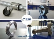 Forged automotive parts - gear blanks, shafts and