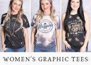 Buy women's graphic tees from southern honey