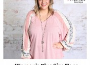 Shop women's plus size tops from southern honey