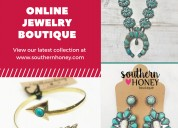 Online jewelry boutique by southern honey boutique