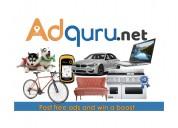 Post free classifieds on adguru | 100% free premiu