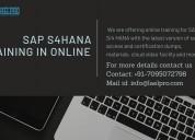 Live training on sap s4hana in online