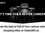 Sony dslr cameras deals | discount on deals360.us