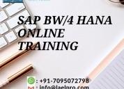 Sap bw/4 hana training online