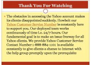 Why you should choose a yahoo customer service