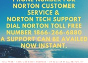 Phone number for norton customer tech support