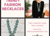 Grab trendy necklaces from southern boutiques