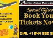 How to book tickets with american airlines number?