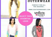 Shop women's outerwear from southern boutiques
