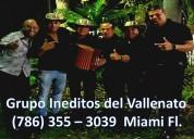 Grupo vallenato // 786 355 3039