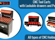 Tool cart with lockable drawers