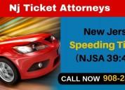 New jersey speeding tickets (njsa 39:4-98)
