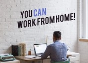 Want to work from home