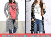 Shop womens long cardigans from southern boutiques