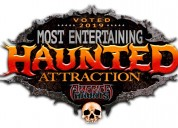 Cutting edge haunted house