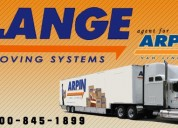 Enjoy  moving experience with lange moving system