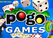 Pogo games online service call us 1-800-608-2315