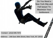 Do you need a new york slip and fall lawyer to max