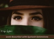 Professional eyelash extensions