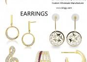 925 sterling silver earrings fine jewelry wholesal
