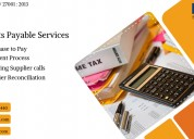 Affordable accounts payable services