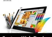 Adsandurl are offering best custom web designing