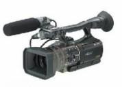 Sony camcorder professional hdv hvrv1p pal black