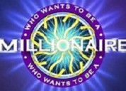 Who... wants to be a millionaire???