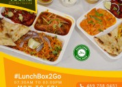 Lunch box2go | lunch box online order from vedika