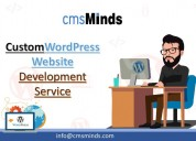 Custom wordpress website development services & co