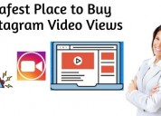 Safest place to buy instagram video views